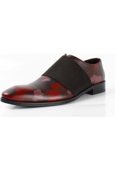 Bruno Shoes 8427K Erkek Klasık Hakıkı Derı Kösele Taban Ayakkabı