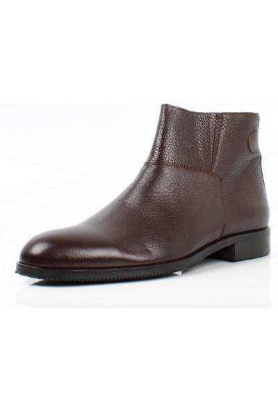 Bruno Shoes 2403KA Erkek Gunluk Derı Kaucuk Taban Bot