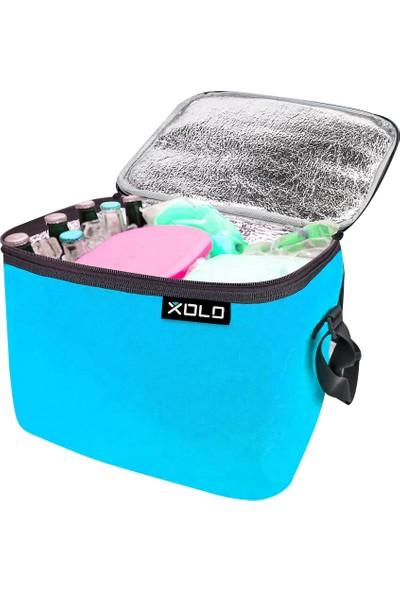 Xolo Oto Araç Termos Buzluk Çanta Mavi 24 Litre Thermo Bag Katlanabilir