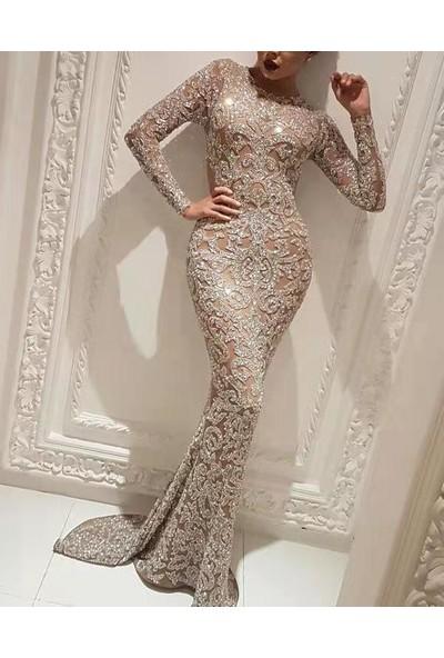 Lifeenjoy Kadın Uzun Parti Elbisesi