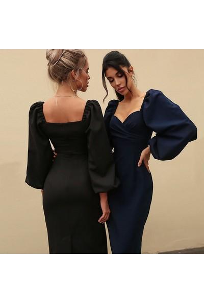 Lifeenjoy Kadınlar Için Uzun Kollu Elbise