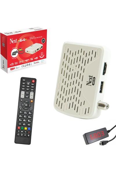 Next Mini Hd Digital Uydu Alıcısı I.p.t.v Av Next-64