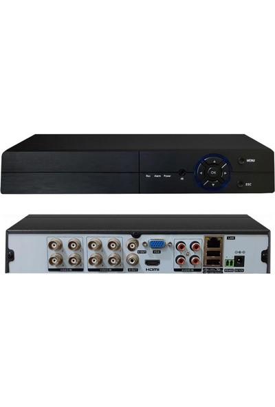 Avenir Kayıt Cihazı Dvr Ahd 8 Kanal H265 2mp Hibrit Xmeye 5 In 1 Avenir AV-TC08GM