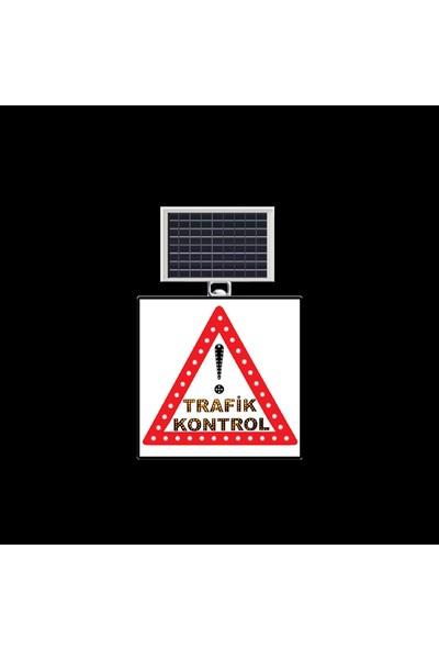 Mfk Dikkat Trafik Kontrol Levhası 9629