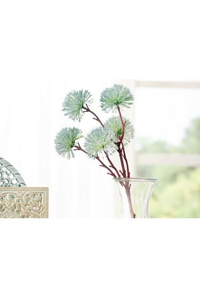 English Home Dandelion Tek Dal Yapay Çıçek 52 cm Mavi
