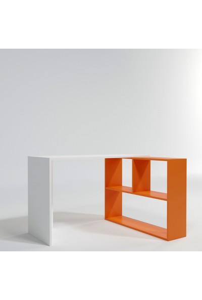 120*78*50 Candeğer Çalışma Masası Turuncu
