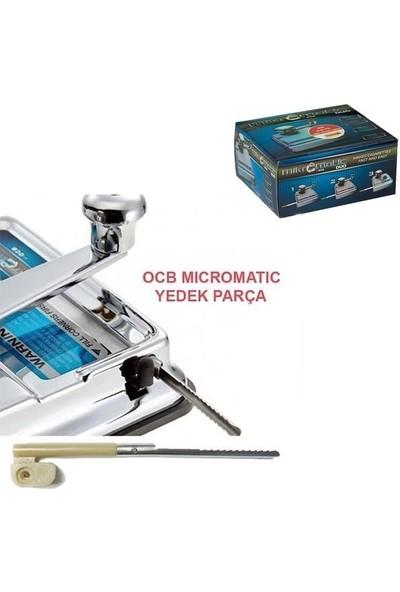 Ocb 3'lü Set Ocb Sigara Sarma Makinası Yedek Kaşık,yedek Parça,mikromatik Yedek Uc