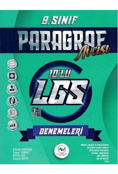 Av Yayınları Akıllı Versiyon Yayınları 8. Sınıf LGS Paragraf 10'lu Deneme