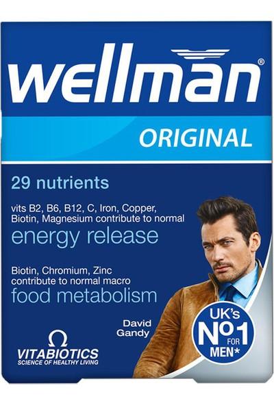 Vitabiotics Wellman Erkek Için 30 Tablet