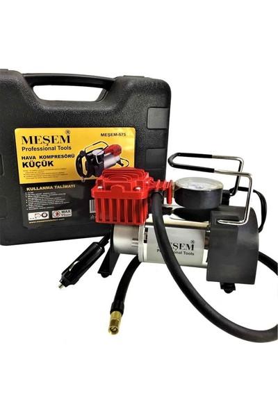 Meşem MEŞEM-575 12 Volt Çakmaklık Girişli Araç Kompresörü Lastik Şişirme Pompası
