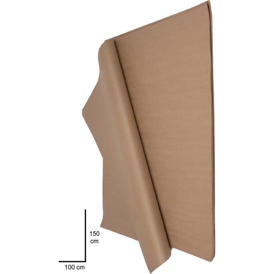 Tek Kağıtçılık Kraft Kağıt Çeyiz ve Paket Kağıdı 100X150 20 Adet