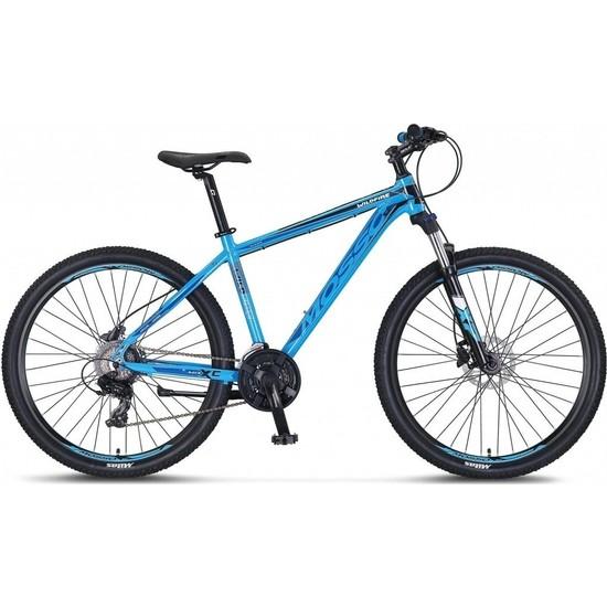 Mosso Wıldfıre M-26-H Erkek Dağ Bisikleti 459H 26 Jant 21 Vites Mavi Siyah