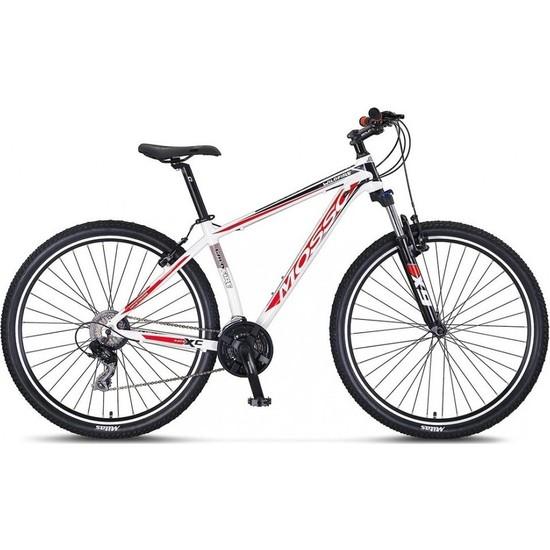 Mosso Wıldfıre M-27-V Erkek Dağ Bisikleti 408H 27,5 Jant 21 Vites Beyaz-Kırmızı