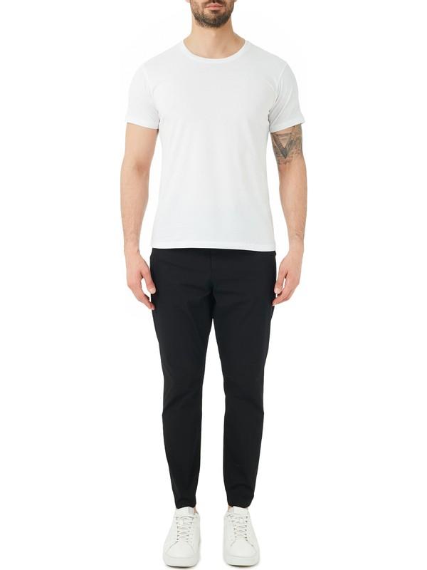 Hugo Boss Pamuklu Belden Bağlamalı Regular Fit Pantolon Erkek Pantolon 50447740 001