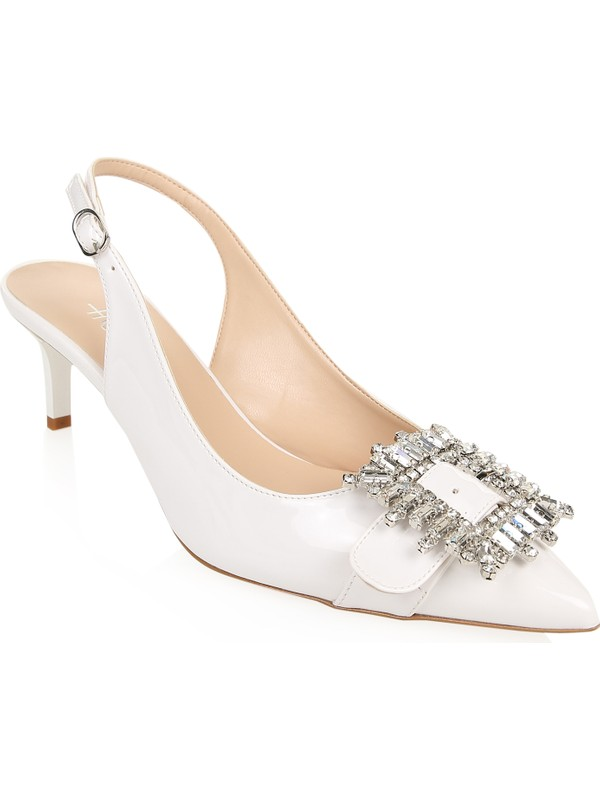Hotiç 01AYH175340A900 Beyaz Kadın Ayakkabı