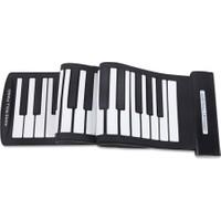 Fairy Taşınabilir 61 Tuşlu Esnek USB Midi Piyano Klavye (Yurt Dışından)