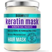 BOOM BUTTER Güçlendirici Onarıcı Keratin Saç Maskesi 190 ML