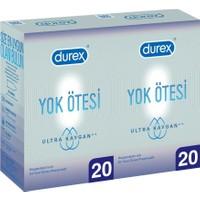 Durex Yok Ötesi Ultra Kaygan 40'lı İnce Prezervatif