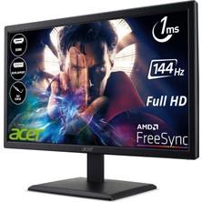 "Acer EG220QP 21.5"" 144Hz 1ms (HDMI+Display) FreeSync Full HD LED Monitör UM.WE0EE.P01"
