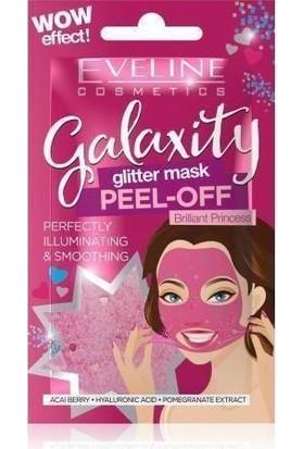 EVELİNE Galaxity- Canlandırıcı Soyulan Simli Yüz Maskesi- 2 Kullanımlık