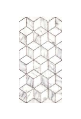 Mcm Mutfak Tezgah Arası Seramik Granit Dekor Arven Gümüş