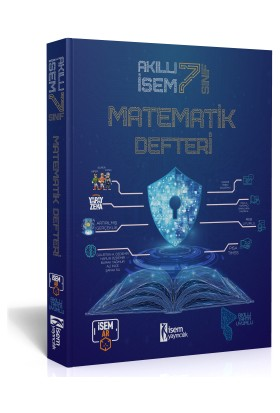 7. Sınıf Akıllı Isem Matematik Defteri