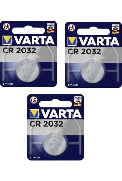 Varta Lıthıum Cr 2032 3V Tekli Pil 3 Paket
