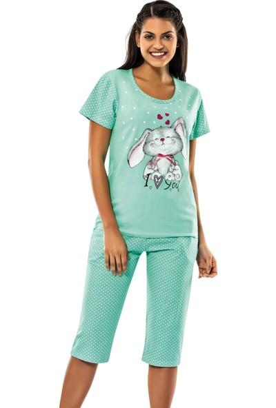 Erdem İç Giyim Green Rabbit Capri