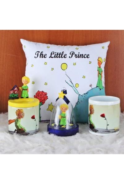 Hediye Kanalı Küçük Prens Fanus Biblo Kalemlik Küçük Prens Puf Yastık Kupa