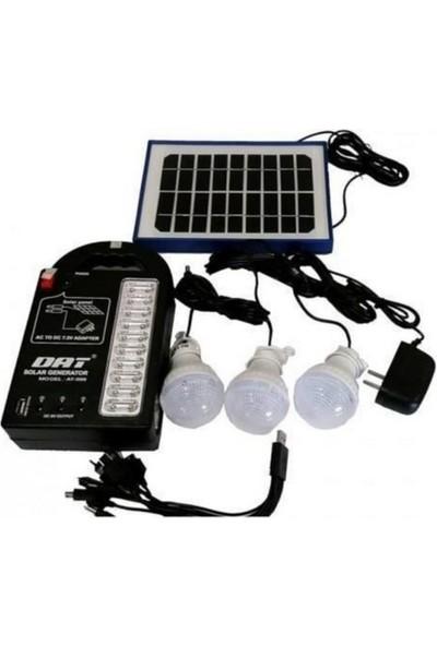 Dat AT-999 Güneş Enerjili Solar Aydınlatma Sistemi