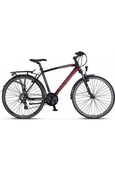 Mosso Legarda 2121MSM 28J V 51K Ct Erkek Bisikleti Siyah-Kırmz