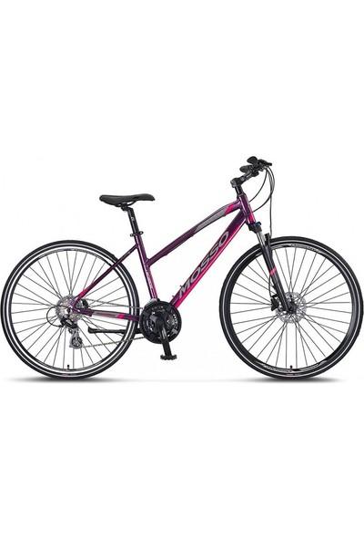 Mosso Legarda 2121 Lsm 28 Jant Hd 46K Bayan Bisikleti Mürdüm-Pem