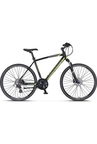 Mosso LEGARDA-2121-MSM-H-ŞEHİR Bisikleti 510H Hd 28 Jant 21 Vites Hakı/turuncu