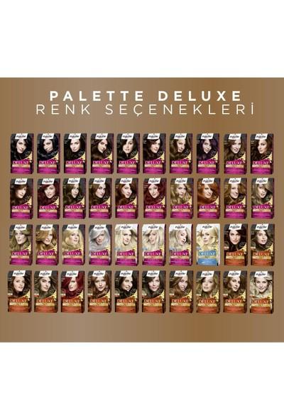 Palette Deluxe Saç Boyası 5-5 Işıltılı Çikolata x 2 Adet + Saç Açıcı Tarak