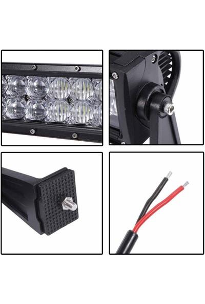 Krc Projektör 107CM LED Bar Off Road Sis Tepe Far 240W 80 LED