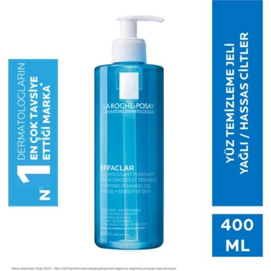 La Roche-Posay Effaclar Jel Temizleme Jeli Yağlı/akneye Eğilim Gösteren Ciltler 400 ml