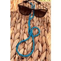 Cosibella Kadın Mavi Boncuk Güneş Gözlüğü Ipi Aksesuarı