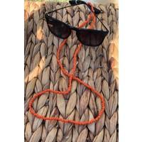 Cosibella Kadın Turuncu Boncuk Güneş Gözlüğü Ipi Aksesuarı