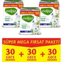 Molped Pure&soft Hijyenik Ped Gece Süper Mega Paket 90 Adet