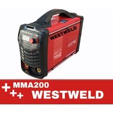 West Weld Westweld MMA200 Amp Invereter Kaynak Makinesi Dijital Göstergeli
