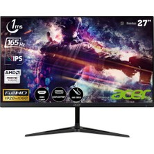 "Acer Nitro RG271P 27"" 165Hz 1ms (2xHDMI+Display) FreeSync Full HD IPS LED Gaming Monitör UM.HR1EE.P01"