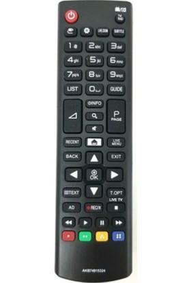 Ata Elektronik Lg AKB74915324 Uyumlu Smart LED Tv Kumandası Home Tuş