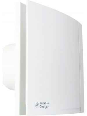 S&p SILENT-200 Crz Desıgn Mini Aksiyel Banyo ve Tuvalet Fanı