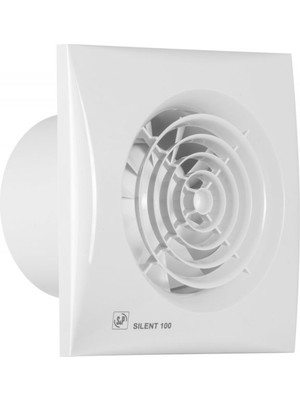 S&p Silent 300 Crz Plastik Tuvalet Banyo Fanı