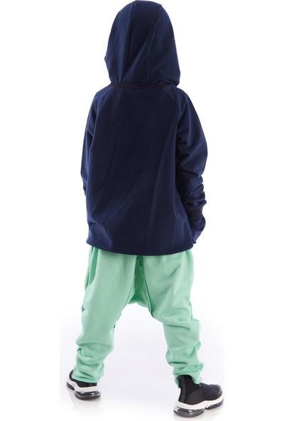 Colorinas Cozy Baggy Unisex Pantolon Mint