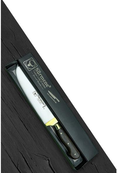 Sürmene Gül Saplı Kasap Bıçağı 37 cm. Toplam Uzunluk