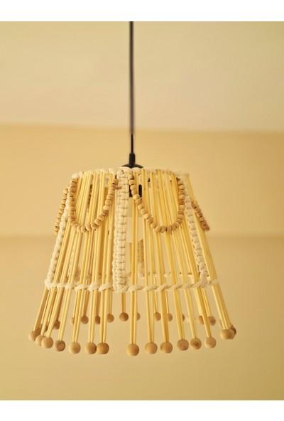 Ays Bohem Tasarım Bambu Bohem Avize