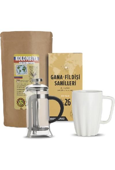 Kahve Dünyası Kolombiya Yöresel Filtre Kahve Keyif Seti