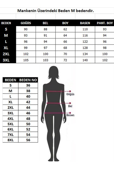 Akbeniz Kadın %100 Pamuk Penye Uzun Kol Pijama Takım 3406