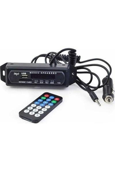 Class Spiral Kablo Oto Teyp Aux , USB , Sd Çevirici Dönüştürücü ve Bluetoothlu Class 402